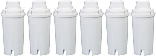 AmazonBasics Replacement Water Filters for AmazonBasics & Brita Pitchers - 6-Pack by AmazonBasics