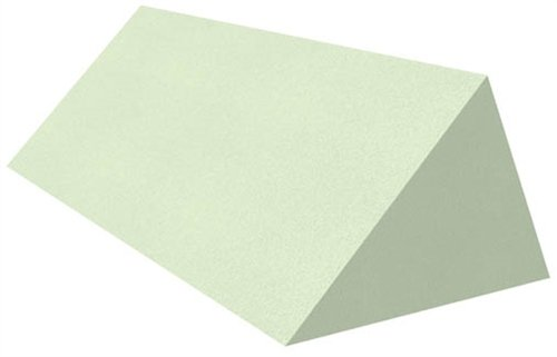 Uncoated Wedge Patient Positioning Sponge, 45° Echocardiography, 30'' x 13'' x 9''