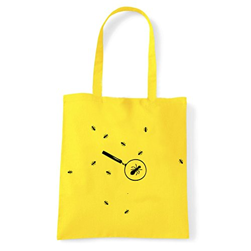 À Art shirt Jaune Pour Formiche L'épaule Porter T Femme bag Sac U0gUwq