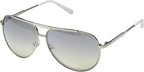 GUESS Factory Men's Pilot Aviator Sunglasses