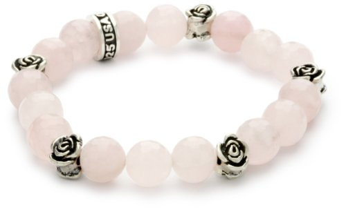 King Baby 10mm Rose Quartz Bea