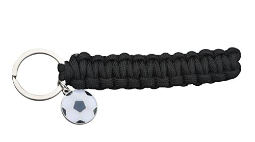 Infinity Collection Soccer Keychain, Soccer Gifts, Soccer Charm Keychain for Soccer Players, Soccer Teams or Coaches ()