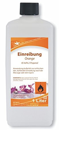 KK Hygiene Einreibung orange (45 Vol. percent ), 1er Pack (1 x 1 l)