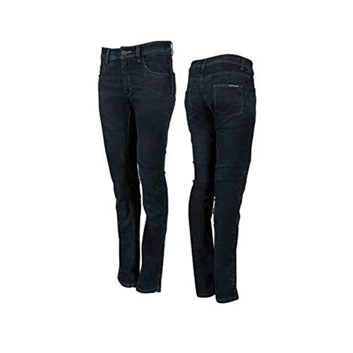 Blue Pant Mx Gear - Speed and Strength Women's True Romance Stretch Moto Jean Pants, Indigo Blue, Size, 6R