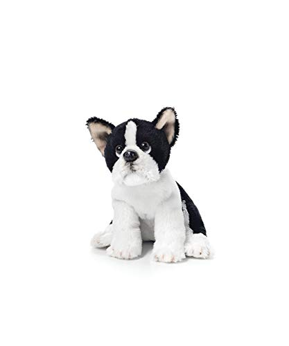 DEMDACO Boston Terrier Beanbag Black and White Children's Plush Stuffed Animal Toy (Boston Terrier X French Bulldog For Sale)