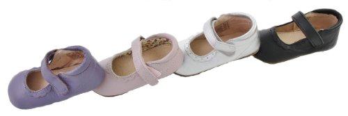 EnFant Mädchen Baby- und Kinder Ballerinas, Ballerina Lace, 810102 Schwarz
