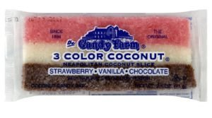 Neapolitan Coconut Slice Old Time Candy