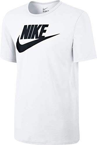Nike Mens Futura Icon T-Shirt White/Black 624314-104 Size X-Large