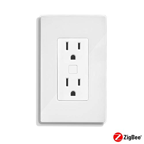 Quirky POTLK-WH02 Outlink Smart Remote Outlet, Works with Alexa