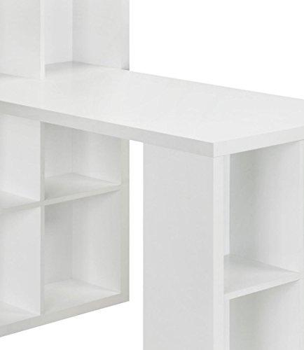 029986935823 - Ameriwood Home London Hobby Desk, White carousel main 4