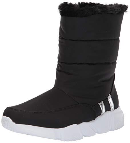 (Steve Madden Women's SNOWDAY Fashion Boot, Black, 7.5 M US)