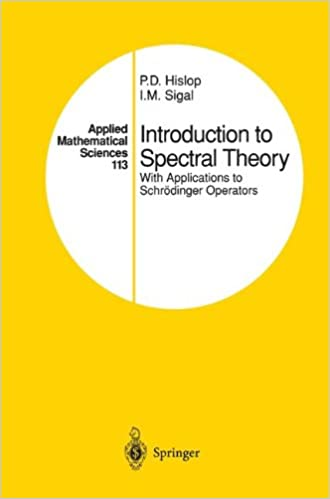 Book Introduction to Spectral Theory: With Applications to Schrödinger Operators (Applied Mathematical Sciences)