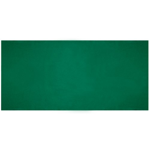 Plain Green Table Felt by ()