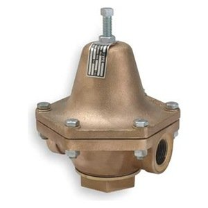 "Cash Valve 12397-0078 Bronze Pressure Regulator, 55 - 100 PSI Pressure Range, 1"" NPT Female from Tyco Valves & Controls"
