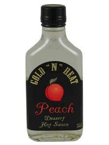 "Gold "" N "" Heat Peach Dessert Hot Sauce 6 Oz"