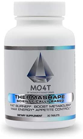 MO4T Fat Loss Pills, Thermashape Thermogenic, Fat Burner Supplement, Weight Loss Pill, Keto Friendly, Metabolism Booster, Appetite Suppressant, Diet Pill for Women Men