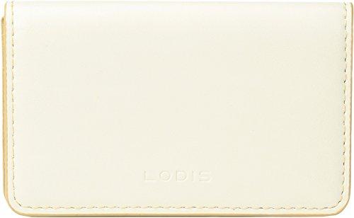 Lodis Accessories Women's Audrey RFID Mini Card Case Cream/Natural One Size