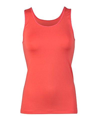 RJ Pure Color Coral Ladies Ladies Shirt 32-013