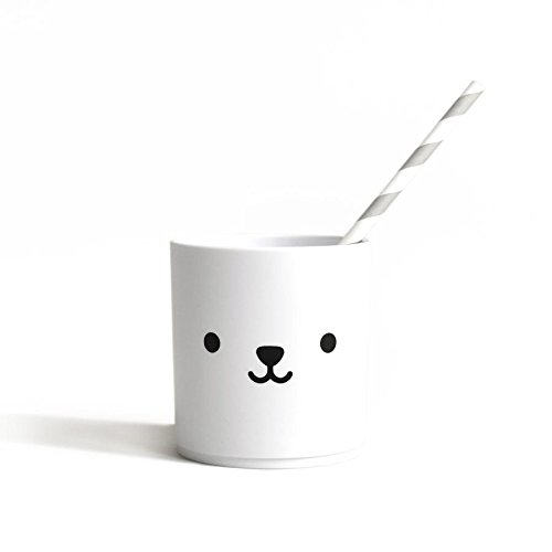 Buddy + Bear Tumbler vasos, color blanco: Amazon.es: Hogar