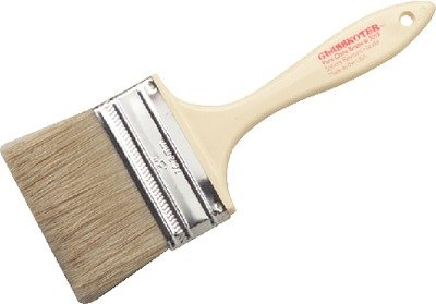 Glasskoter Paint Brush, Re-Usable Throw-Aways, 1 1/2