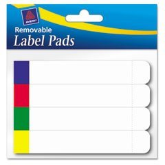 Label Pads - AVE22027 - Avery Removable Label Pads