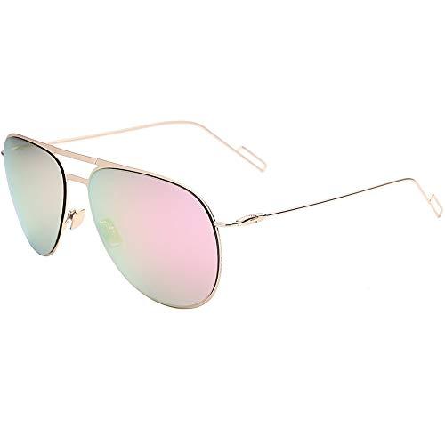 en rétro acier soleil de inoxydable soleil de lunettes Lunettes unisexe pour NIFG HO1IqI
