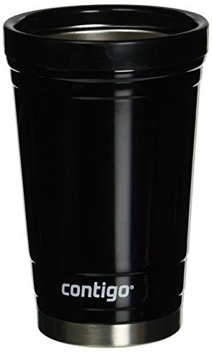 Contigo Party Cup, 16-Ounce, Stainless Steel, Doble Wall vaccum-Insulated, Black by Contigo
