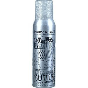 B-wild Hair and Body Glitter Spray Silver 3.5