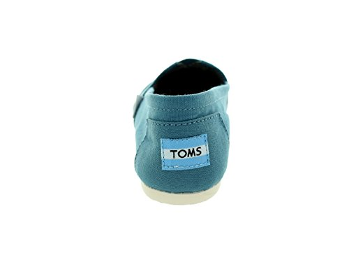 Toms Womens Classic Casual Shoe Aegean Blue Canvas