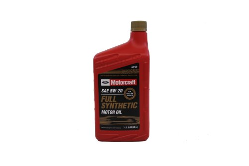 Genuine Ford Fluid XO-5W20-QFS SAE 5W-20 Full Synthetic Motor Oil - 1 Quart Bottle