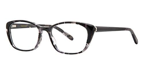 Vera Wang Crysta Black Marble 51 mm Eyeglasses, Size 51-17-140 B37
