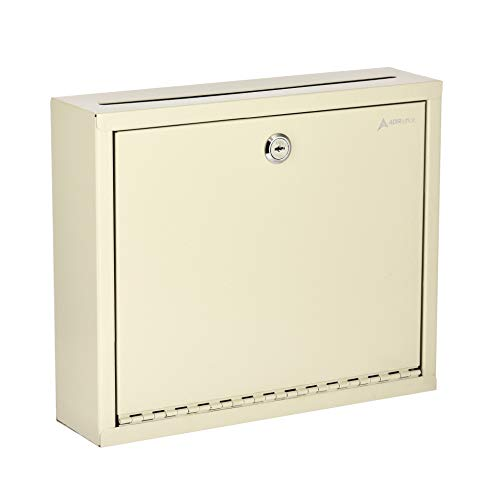 - AdirOffice Multi Purpose, Mail Box, Drop Box, Suggestion Box, Wall Mountable, 3