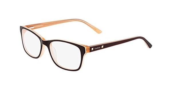 380ab1a92d7 BEBE Eyeglasses BB5075 210 Topaz 52MM at Amazon Men s Clothing store