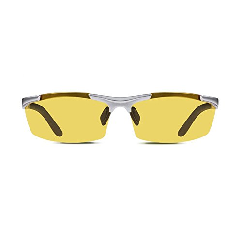YQ Hombres Gafas Gafas Visión Sol Duradero De Aviación De Y QY De Nocturna 6 Conducción De Color Fuerte Gafas Polarizadas Gafas 5 r5zwqr0X