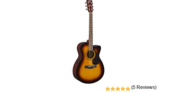 Yamaha FSX315CTBS - Guitarra electroacústica: Amazon.es ...