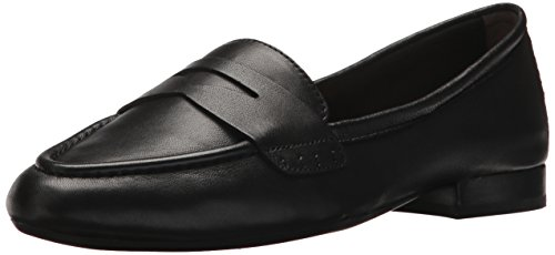 Aerosoles Women's MAP Out Loafer, Black Leather, 7 M US