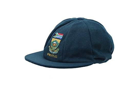 c49a756d6a5 CLASSICAL MENS MELTON WOOL CRICKET CAP NEW SOUTH AFRICA TEST LOGO GREEN  58-62CM  Amazon.co.uk  Sports   Outdoors