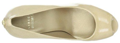 Stuart Weitzman Loire - Zapatos de tacón de cuero mujer beige - Beige (Flesh)