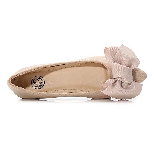 18c4c3c8f8b0c Meeshine Women's Pointed Ballet Flats Soft Comfort Slip On Dress ...