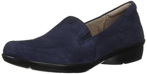Naturalizer Women's Channing Loafer, Navy Suede, 9 M US