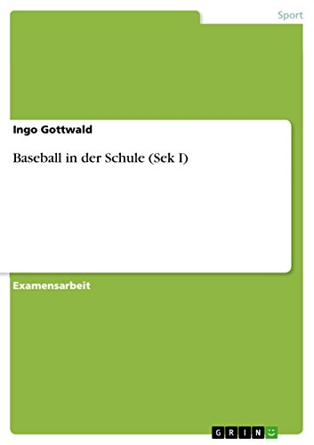 Baseball in der Schule (Sek I) (German Print run)