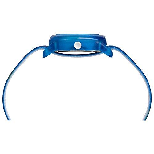 Timex Boys TW7C16800 Time Machines Blue Basketball Elastic Fabric Strap Watch