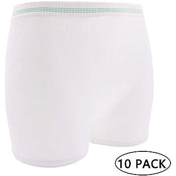 Amazon Com Mesh Postpartum Underwear 3pack Disposable