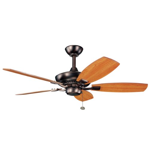 Kichler 300107OBB 44-Inch Canfield Fan, Oil Brushed Bronze from Kichler
