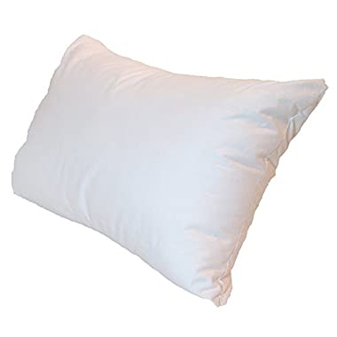 Pillowflex Pillow Form Insert - Machine Washable (12 Inch By 18 Inch)