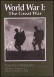 Book World War I: The Great War (Worldwatch Paper)
