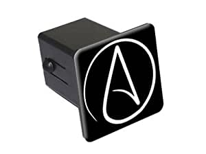 Amazon Com Atheist Symbol 2 Quot Tow Trailer Hitch Cover
