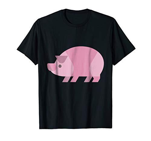 Pig Clipart Flat Design T-shirt for $<!--$19.84-->