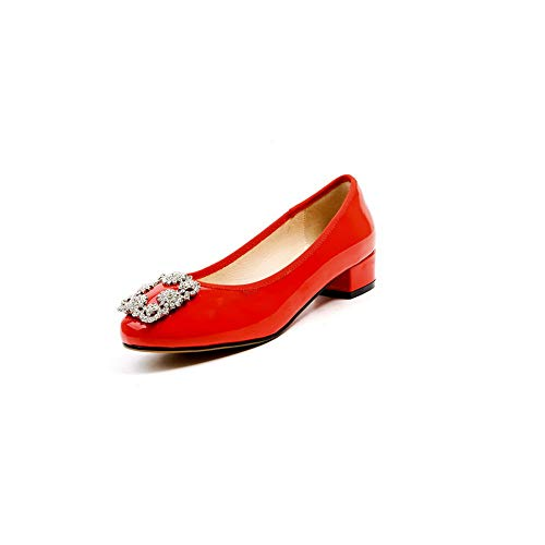 Compensées Red Sandales BalaMasa 5 Rouge 36 Femme APL11061 HBwfR