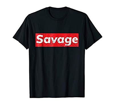 Distressed Hip Hop Savage T Shirt